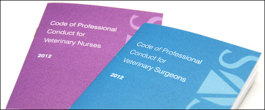Codes of Professional Conduct for veterinary surgeons and veterinary nurses